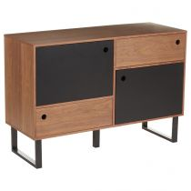 "Buffet 2 Portes ""Walnut"" Noyer"