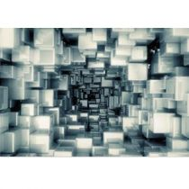 "Tableau Photo Plexiglas ""Cubes"" 120x80cm"