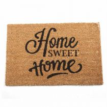 "Paillasson Coco ""Sweet Home"" 40x60cm Marron"