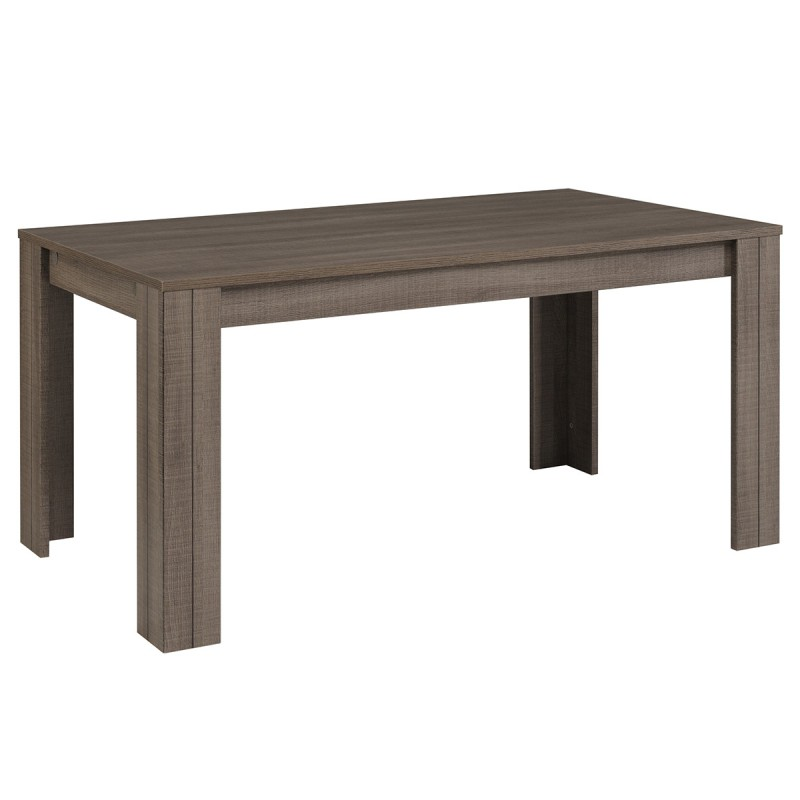 Table de salle manger rectangulaire lois 160cm r glisse for Table a manger rectangulaire
