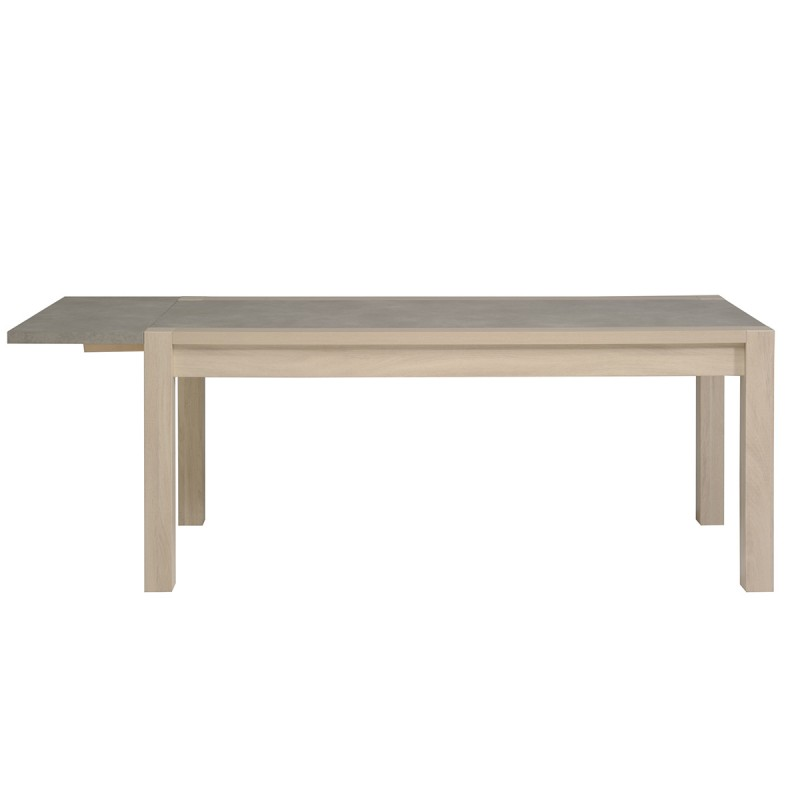 Table de salle manger stark 180cm ch ne b ton for Table a manger beton