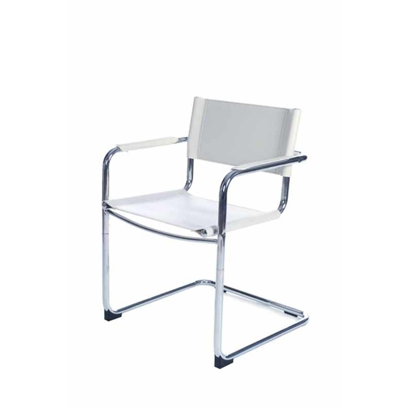 Chaise de bureau design blanche for Chaise de bureau blanche