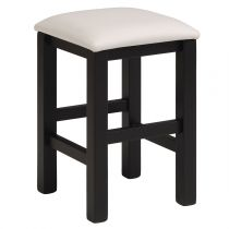 "Tabouret ""Dolly"" Noir & Blanc"