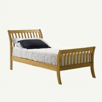 "Lit Enfant ""Parma"" 90x190cm Naturel"