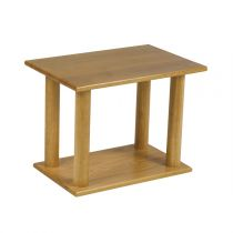 "Table de Chevet ""Bassano"" 84cm Naturel"