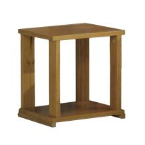 "Table de Chevet ""Agata"" 42cm Naturel"