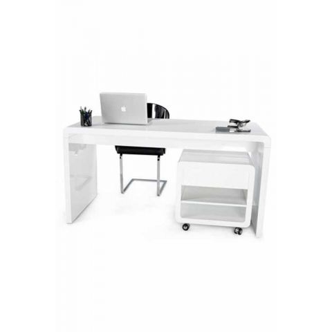 "Bureau ""Light"" Blanc"