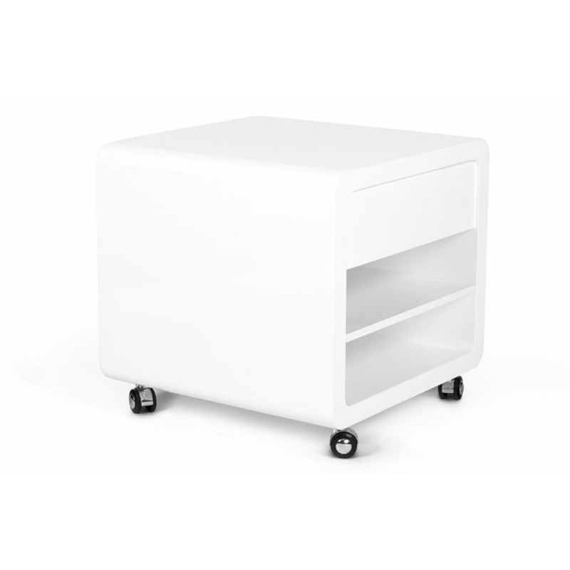 Caisson de bureau light blanc for Caisson de bureau