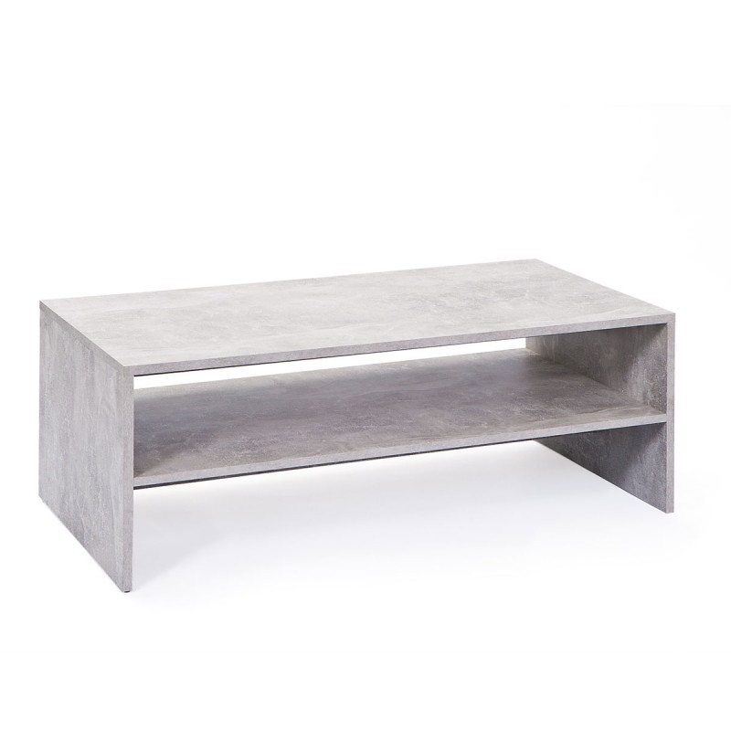 table basse concrete gris. Black Bedroom Furniture Sets. Home Design Ideas