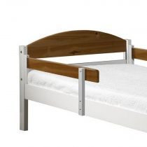 "Lot de 2 Rails de Sécurité ""Maximus"" 94cm Blanc & Naturel"