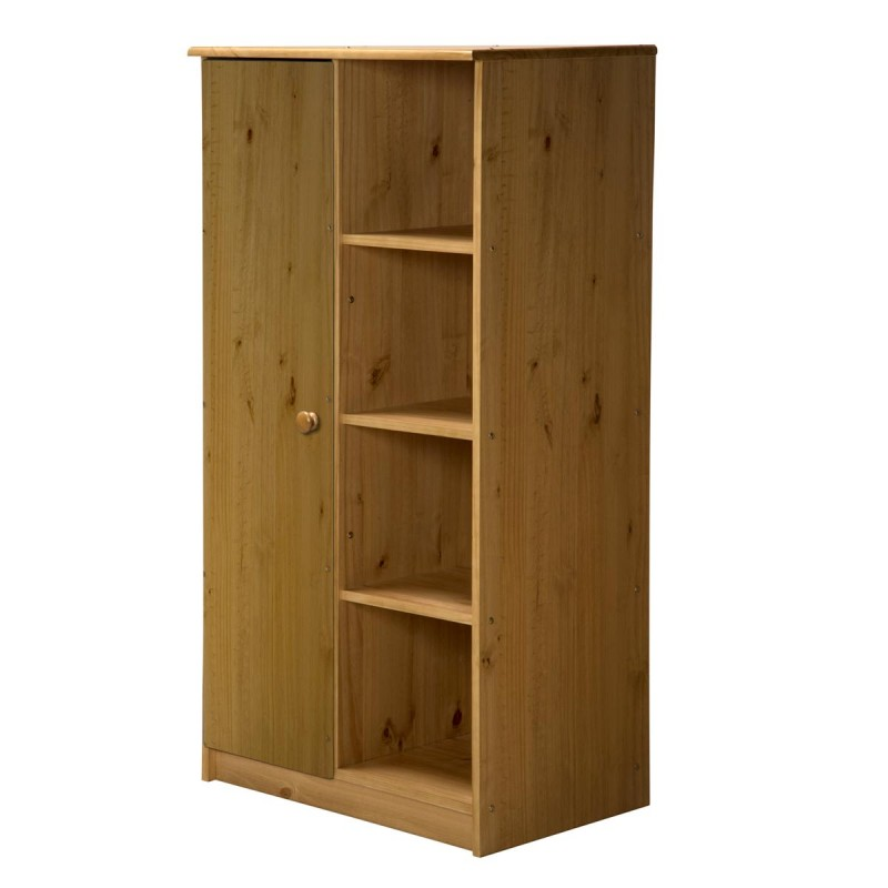 placard enfant 1 porte avola 136cm naturel. Black Bedroom Furniture Sets. Home Design Ideas