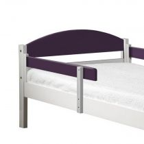 "Lot de 2 Rails de Sécurité ""Maximus"" 94cm Blanc & Lilas"