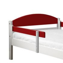 "Lot de 2 Rails de Sécurité ""Maximus"" 94cm Blanc & Rouge"