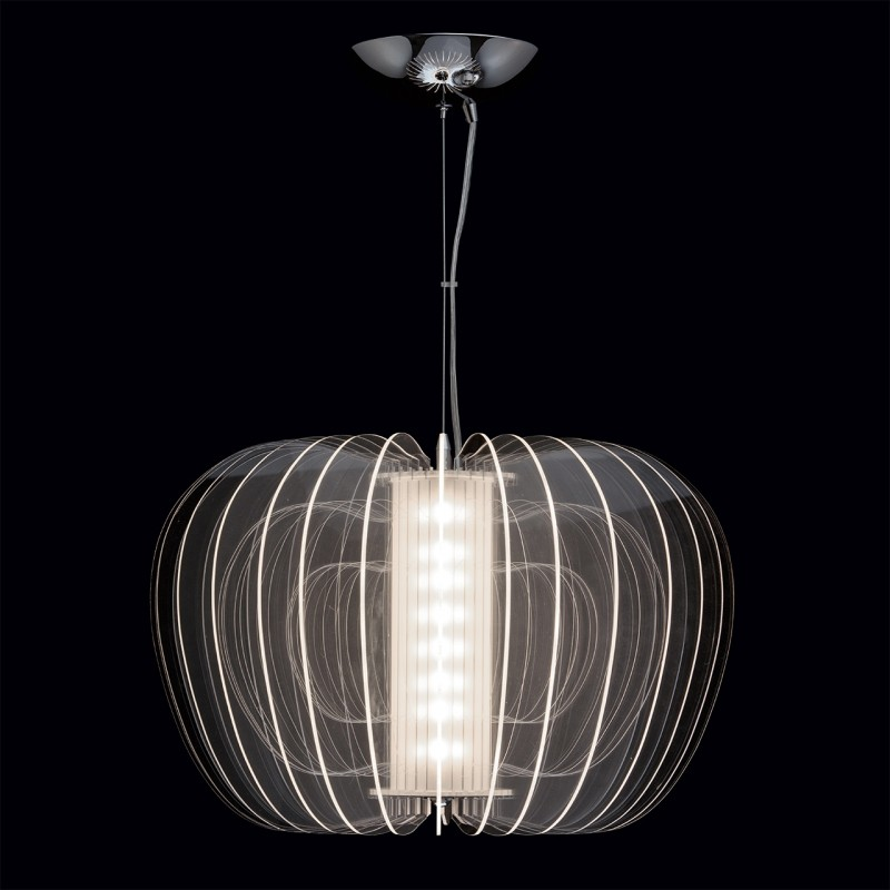 lampe suspension m tal herman 80cm blanc. Black Bedroom Furniture Sets. Home Design Ideas