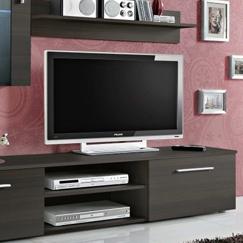 meuble tv mural design galino v coffee weng. Black Bedroom Furniture Sets. Home Design Ideas