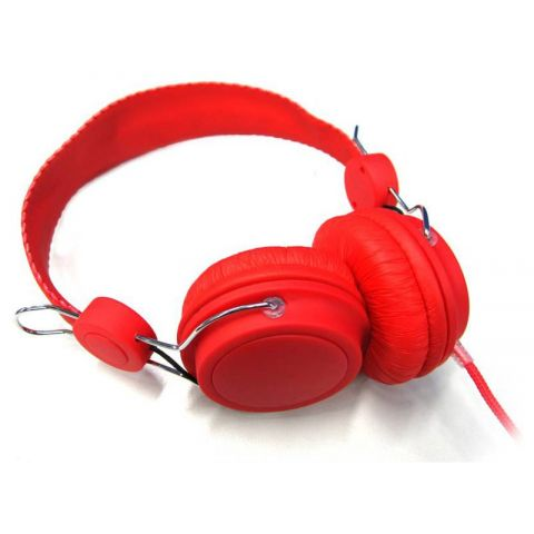 Casque Audio DJ Rouge