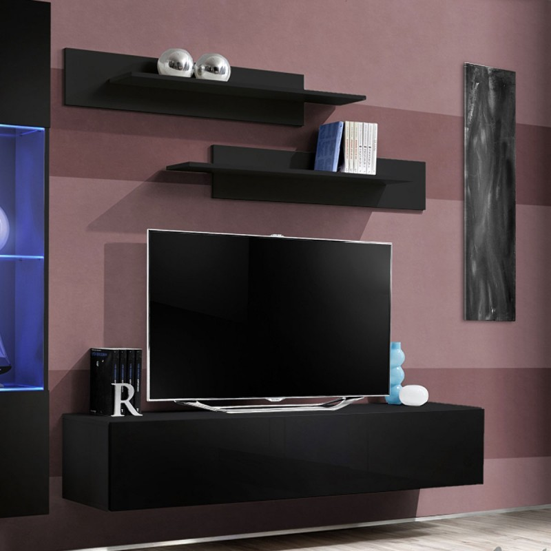 meuble tele design fly. Black Bedroom Furniture Sets. Home Design Ideas
