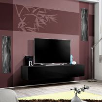 "Meuble TV Mural Design ""Fly I"" 160cm Noir"