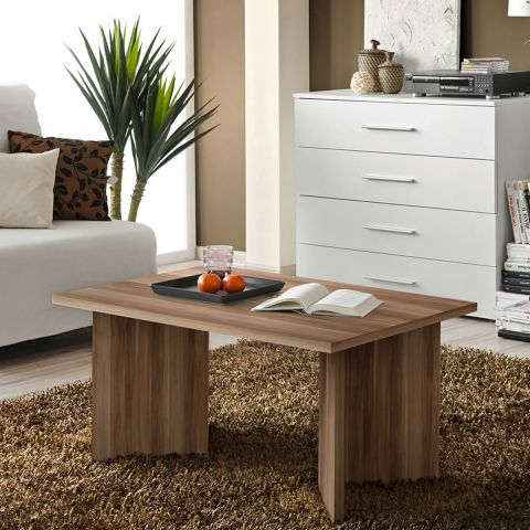 Basse Rectangulaire Table 90cm Nano Prunier Ygbf76y