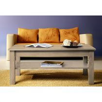 "Table Basse Rectangulaire ""Uni"" 110cm Chêne"