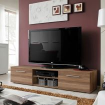 "Meuble TV Design ""Bono II"" 180cm Brun"