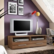 "Meuble TV Design ""Bern"" 120cm Brun"