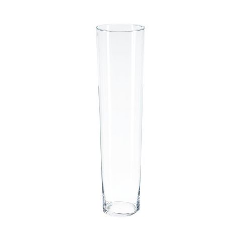 Vase Conique 70cm Transparent