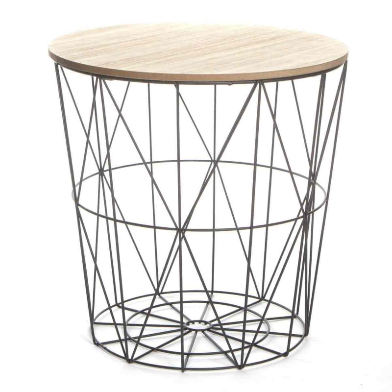 Table d 39 appoint design kumi 41cm noir - Tables d appoint design ...