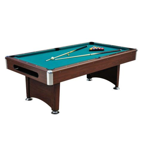 Table de Billard Américain 220cm Marron