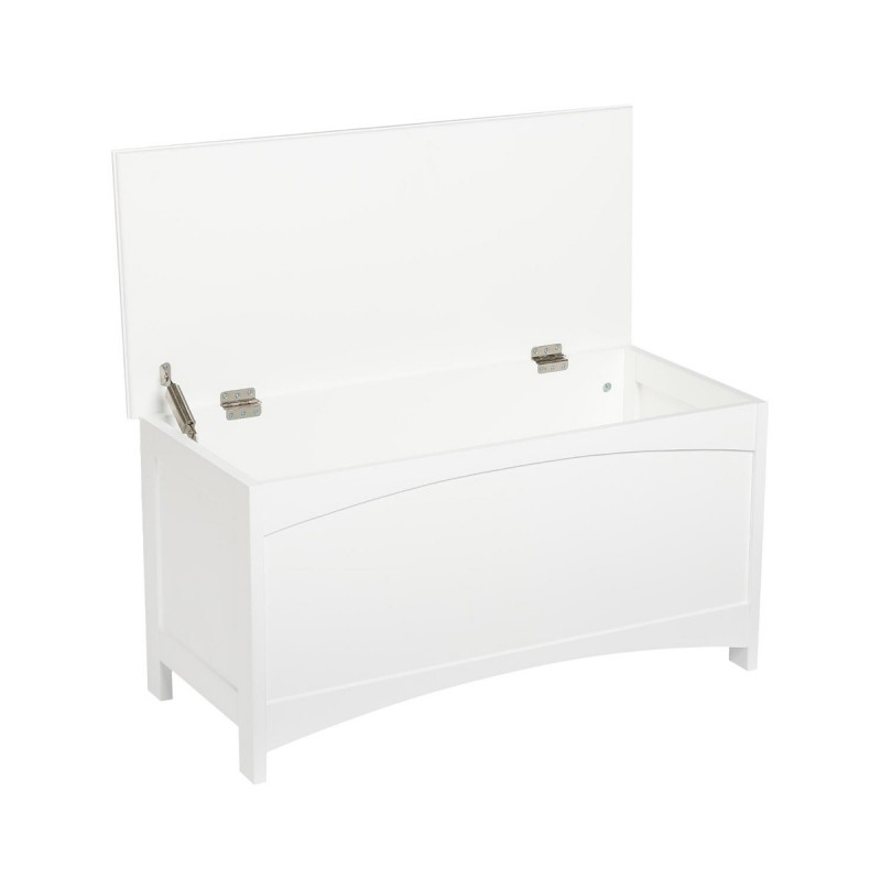 coffre de rangement ivo 78cm blanc. Black Bedroom Furniture Sets. Home Design Ideas