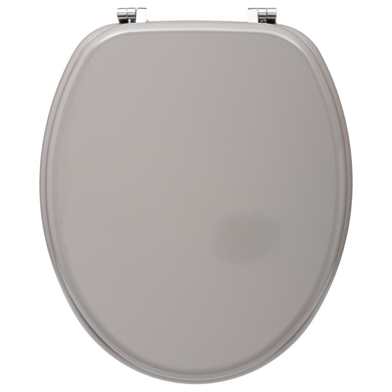 Abattant Wc En Bois Luxe Taupe