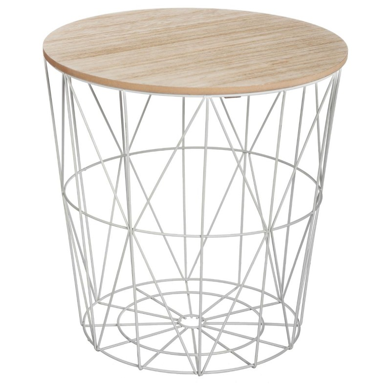 Table d 39 appoint design kumi 41cm gris - Table haute d appoint ...