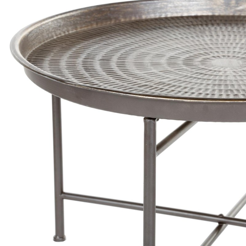 Table d 39 appoint design instants nature 65cm gris - Table d appoint design ...