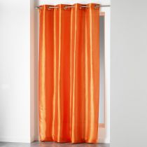 "Rideau ""Shana"" 140x240cm Orange Brique"