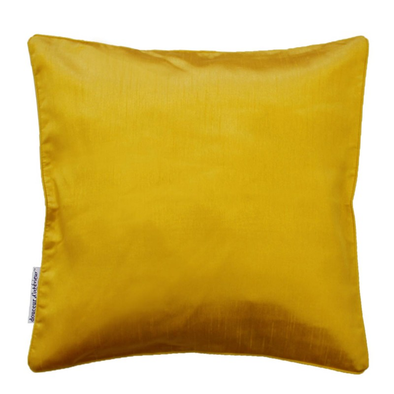 Housse de coussin shana 40x40cm jaune moutarde for Housse up and down