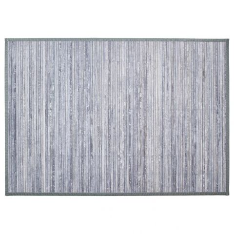 tapis en bambou latte 120x170cm gris clair. Black Bedroom Furniture Sets. Home Design Ideas