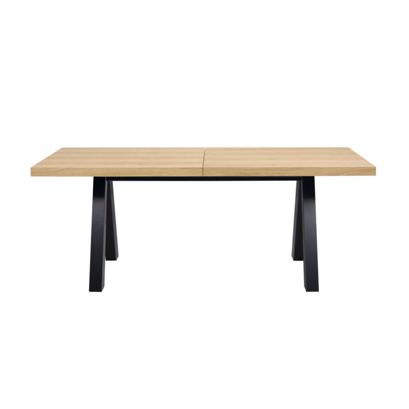 Temahome table de repas extensible apex 250cm noir ch ne for Table de repas design extensible