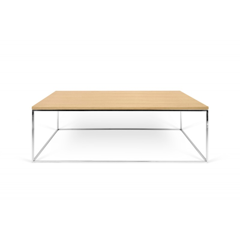 Table basse chene metal conceptions de maison for Table basse chene metal