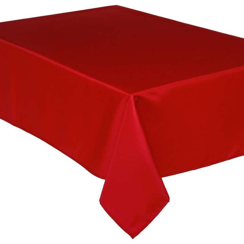 Nappe anti t che 140x240cm rouge - Nappe anti tache rectangulaire ...