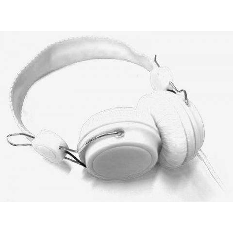 Casque Audio DJ Blanc