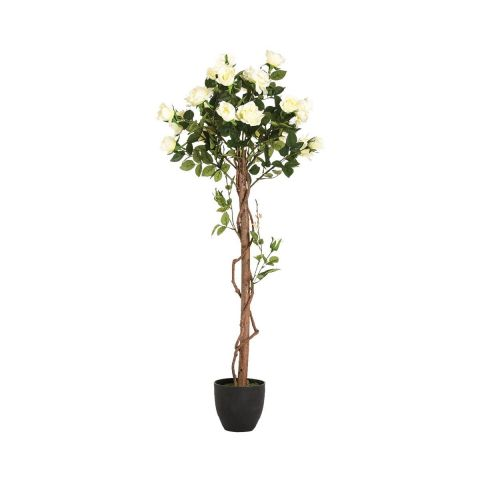 "Plante Artificielle ""Rosier"" 130cm"