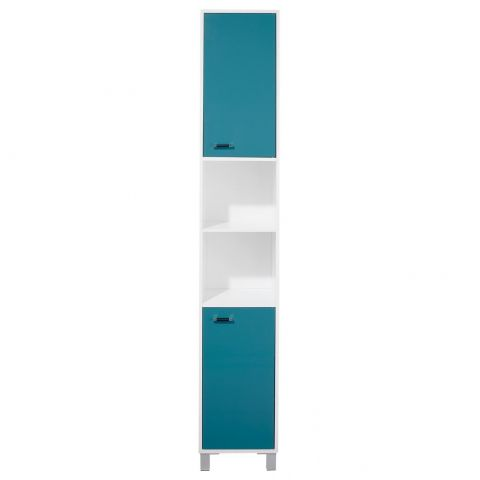 "Colonne 2 Portes ""Gloss"" Turquoise"