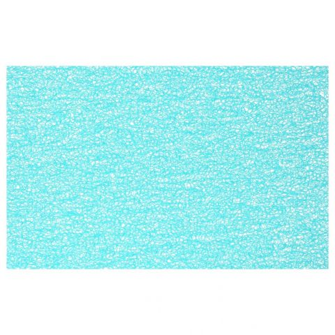 "Set de Table Rectangulaire ""Spaghetti"" 30x45cm Turquoise"
