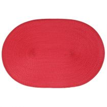 "Set de Table ""Ovale"" 30x45cm Rouge"