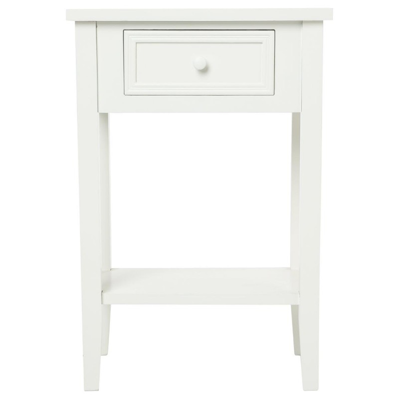 Table de chevet charme 67cm blanc for Table de chevet zen