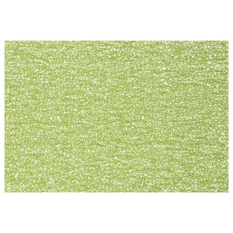 "Set de Table Rectangulaire ""Spaghetti"" 30x45cm Vert Anis"