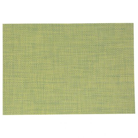 "Set de Table ""Texaline"" Rectangulaire Vert"