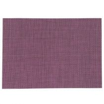 "Set de Table ""Texaline"" Rectangulaire Violet"