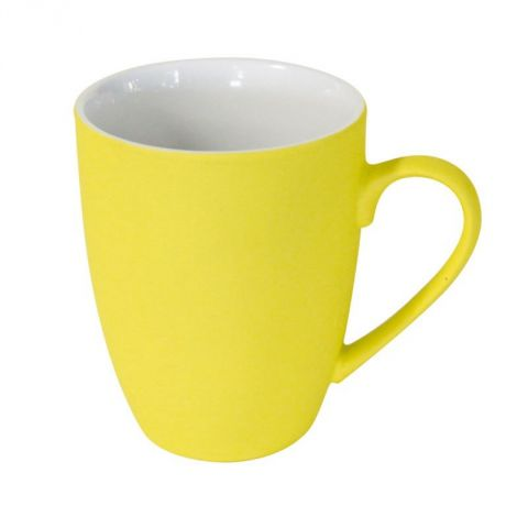 Mug So Soft en Silicone Jaune