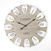 "Pendule Bois ""London 1832"" 70cm"